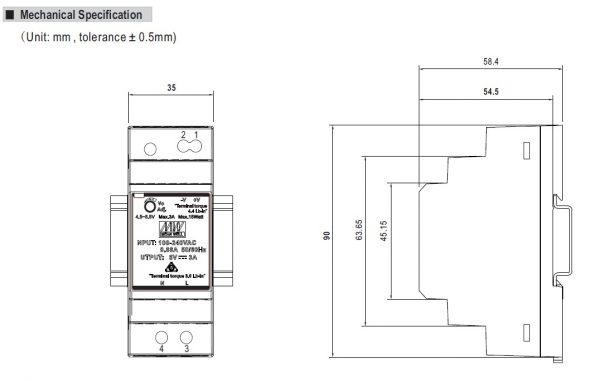 مشخصات مکانیکی HDR-30-12