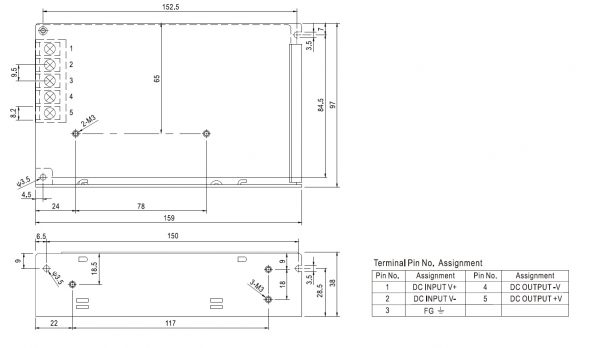 مشخصات مکانیکی SD-50A-12