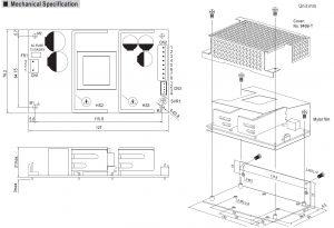 مشخصات مکانیکی PSC-100