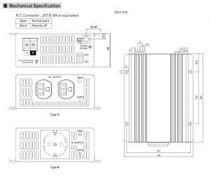 مشخصات مکانیکی TS-200