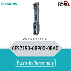 Push-in terminals 6ES7193-6BP00-0BA0
