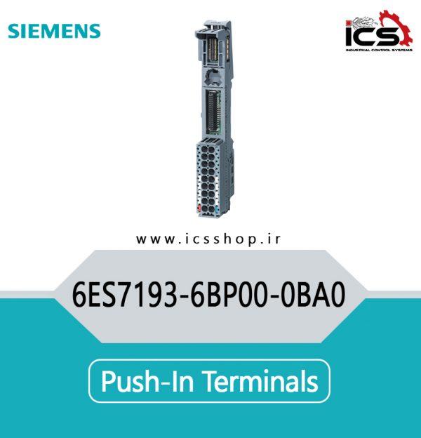 Push-in terminals 6ES7193-6BP00-0BA0