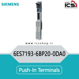 Push-in terminals 6ES7193-6BP20-0DA0